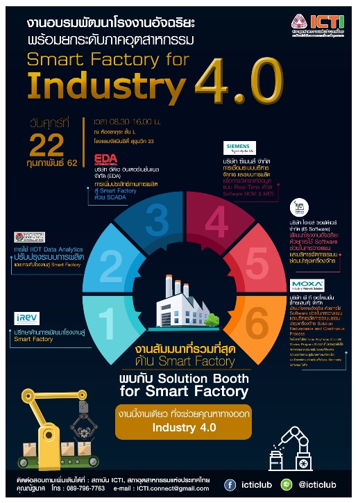 Smart Factory for Industry 4.0